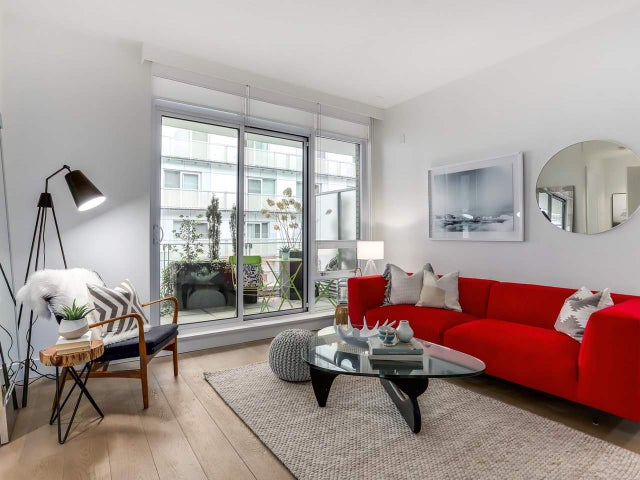 312 77 WALTER HARDWICK AVENUE - False Creek Apartment/Condo for sale, 2 Bedrooms (R2369015) #1